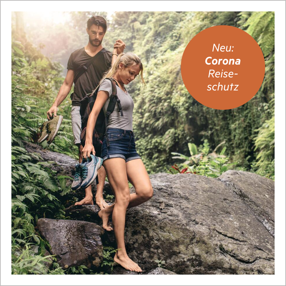 Corona Reiseschutz der HanseMerkur
